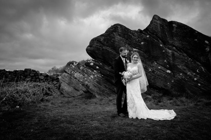 Peak Edge Hotel wedding by Sheffield wedding photographer Chris Loneragan