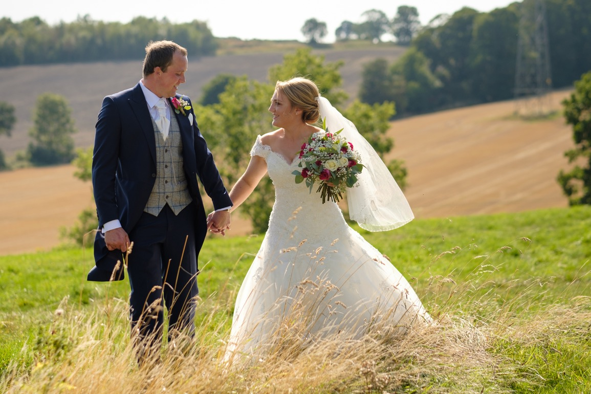 Ringwood Hall wedding and Barlow Church with a tractor by Sheffield wedding photographer 0918