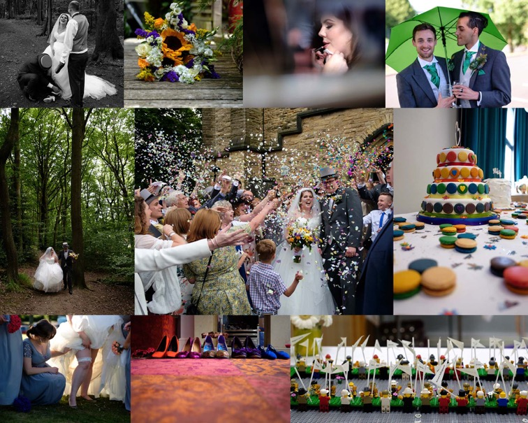 Coal Aston Village Hall wedding Sheffield wedding photographer edge