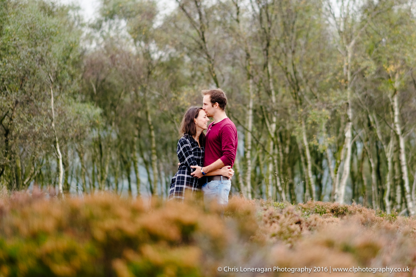 edge Peak District wedding photography engagement shoot