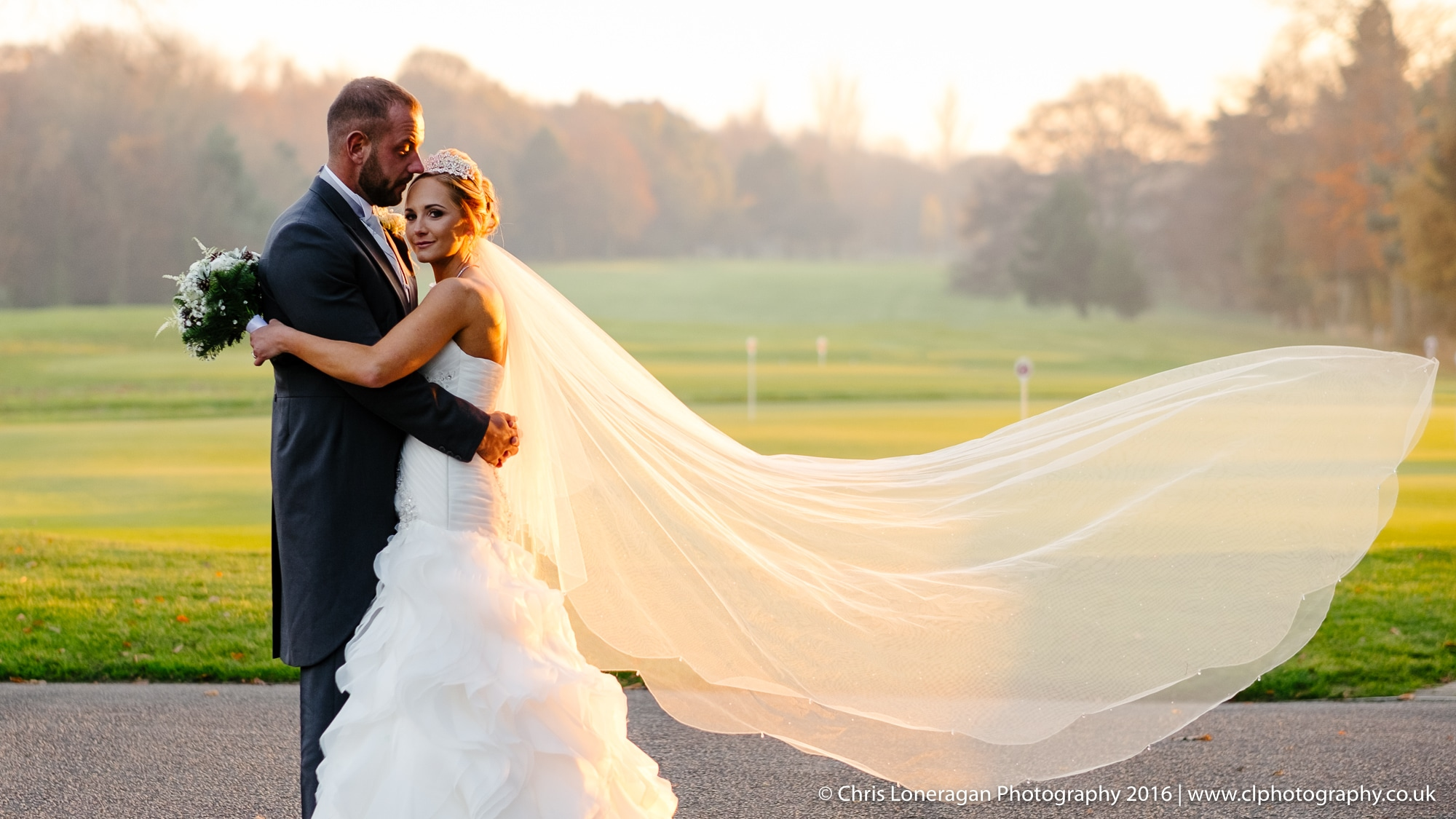 Rotherham Golf Club wedding and Wentworth Church wedding edge